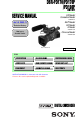 Page #1 of Sony DSR PD170 - Camcorder - 380 KP Manual