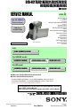 Page 1 Preview of Sony DCR-HC17E Service manual