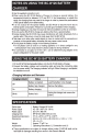 Page 6 Preview of FujiFilm BC-W126 Operating instructions manual
