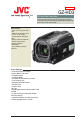 JVC GZ HD3 - Everio Camcorder - 1080i | Page 1 Preview