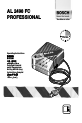 Bosch AL 2498 FC PROFESSIONAL   Page 1 Preview