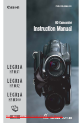 Canon Legria HFM31 Camcorder Manual, Page 1
