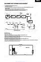 Preview Page 3 | Integra DTR-7.2 Amplifier, Receiver Manual