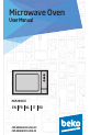 Preview Page 1 | Beko MGF 28310 X Microwave Oven Manual