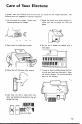 Preview Page 3 | Yamaha DK-40B Electronic Keyboard Manual