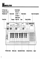 Preview Page 4 | Yamaha TYU-40 Electronic Keyboard Manual
