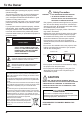 Eiki LC-WS250 Projector Manual, Page 4