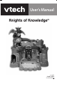 VTech Knights Of Knowledge Operation & user's manual, Page 1