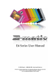 Ematic E4 series Digital Camera, MP3 Player Manual, Page 1