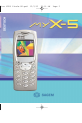 Sagem My X-5 | Page 1 Preview
