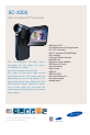 Page 1 Preview of Samsung SC-X300 Brochure