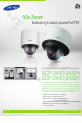 Samsung SCP-3430/3430H Security Camera, Page 1
