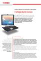 Toshiba M200 - Portege - Pentium M 1.5 GHz | Page 1 Preview