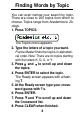 Preview Page 9   Franklin CWM-206 PDA Manual