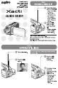 Sanyo VPC WH1 - Xacti Camcorder - 720p Camcorder, Digital Camera Manual, Page 1