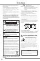 Preview Page 4 | Sanyo PLC-XTC50AL Projector Manual