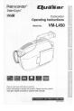 Preview Page 1 | Quasar Palmcorder VM-L450 Camcorder Manual
