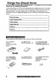 Quasar Palmcorder VM-L450 Camcorder Manual, Page 2