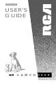 RCA CC638/639 Manual