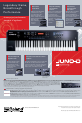 Roland JUNO-D Manual, Page 2