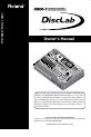 Roland CDX-1 Page 1