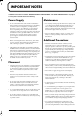 Roland RD-700 Page 5