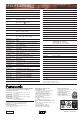 Panasonic AJ-HDX400 Camcorder Manual, Page 8