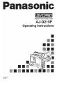 Panasonic AJD215 - DVCPRO CAMCORDER Manual, Page #1