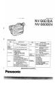 Panasonic NV-S6E Camcorder Manual, Page 1