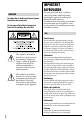Page 2 Preview of Sony DCR-SR220 Handycam® Operating manual