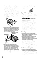 Page #6 of Sony DCR-SR220 Handycam® Manual