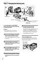 Preview Page 8 | Sony DCR-SR220 Handycam® Binocular, Camcorder Manual