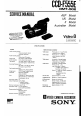 Page 1 Preview of Sony CCD-F555E Service manual