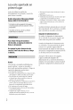Sony HDR-CX110 - High Definition Flash Memory Handycam Camcorder Manual, Page #2