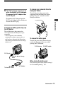 Page 9 Preview of Sony DCR-HC32E Operating manual