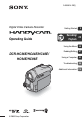 Preview Page 1 | Sony Handycam DCR-HC36E Camcorder Manual