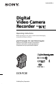 Page 1 Preview of Sony DCR-PC3E Operating instructions manual