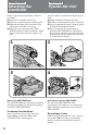 Page 8 Preview of Sony DCR-VX9000E Operating instructions manual