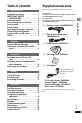 Preview Page 3 | Panasonic SVSR100 - SD AUDIO RECORDER MP3 Player, Recording Equipment Manual
