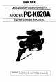 Page 1 Preview of Pentax PC-K020A Instruction manual