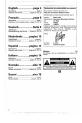 Philips AJ3010/05 Alarm Clock, Clock Manual, Page 2