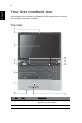 Acer Aspire 5745PG Laptop Manual, Page 6