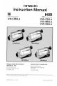 VMH-755LA - Camcorder, Page 1