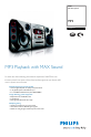 Philips FWM570 | Page 1 Preview