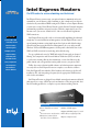 Intel Express Routers 9000 Network Router Manual, Page 1