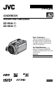 JVC Everio GZ-HD30 Camcorder Manual, Page 1