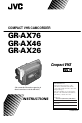 JVC GR-AX26 | Page 1 Preview