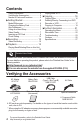 Page #4 of JVC Everio GZ-HM30U Manual