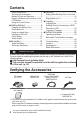 Page #4 of JVC EVERIO GZ-HM440U Manual