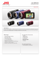 JVC Everio GZ-HM450 | Page 1 Preview